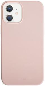 Чехол накладка Uniq для Apple iPhone 12/12 Pro розовый