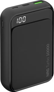 Внешняя АКБ Deppa NRG Turbo Compact 10000 mAh, 1USB, USB-C 18W (Черный)