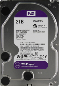 Жесткий диск Western Digital Purple [WD20PURZ] 2 Тб
