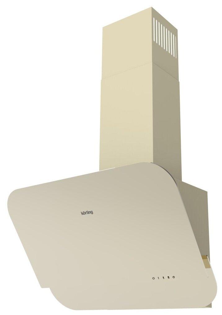Вытяжка Korting KHC 66135 GB бежевый