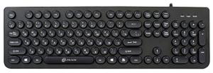 Клавиатура проводная Oklick 400MR черный