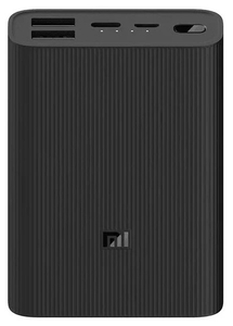 Портативное ЗУ Xiaomi Mi Power Bank 3 Ultra compact 10000 mAh черный