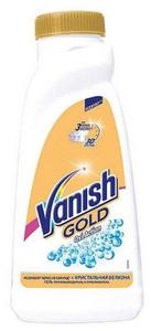 Пятновыводитель для белых тканей жидкий 1л Vanish Gold