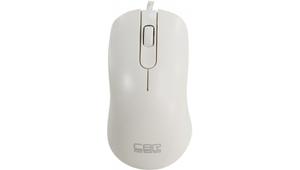 Мышь проводная CBR CM 105 белый