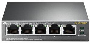 Коммутатор (switch) TP-LINK [TL-SF1005P]