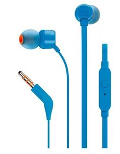 Проводные наушники JBL 110 синий