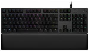 Клавиатура проводная Logitech G513 Carbon GX Brown черный