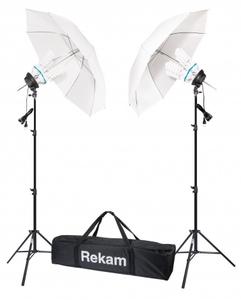 Комплект флуоресцентных осветителей с зонтами Rekam CL4-600-UM Kit