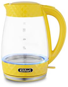 Чайник электрический Kitfort КТ-6123-5 желтый