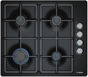 Газовая варочная панель Bosch PBP6C6B90 черный