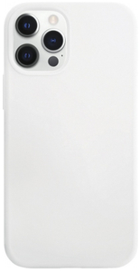 Чехол защитный «vlp» Silicone Сase для iPhone 12/12 Pro, белый