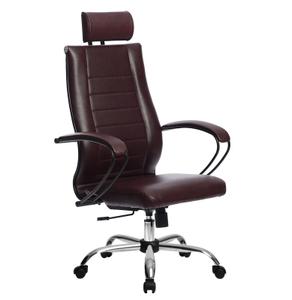 Кресло для руководителя Метта Комплект 32 (БЕЗ ОСНОВАНИЯ) красный