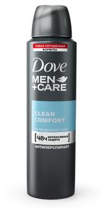 Дезодорант-антиперспирант мужской Экстразащита и уход 150 мл DOVE