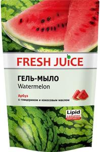 """Гель-мыло """"Watermelon"""" (арбуз) с глицерином ПАК 460мл Fresh Juice"""