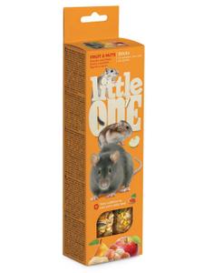 "LITTLE ONE / Лакомство для грызунов ""Палочки"" 120 гр."