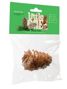 """LITTLE ONE / Лакомство-игрушка для всех видов грызунов """"Кедровая шишка"""""""