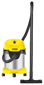 Пылесос Karcher WD 3 Premium желтый