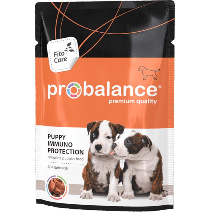 """Консервированный корм ProBalance """"PUPPY Immuno Protection"""" для щенков, 100 гр. ( 25 шт. в уп.)"""