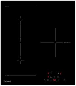 Индукционная варочная поверхность Weissgauff HI 430 BFZ черный