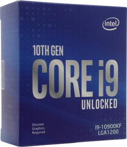 Процессор Intel Core i9-10900KF (без кулера) BOX