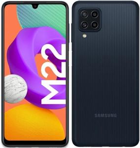 Смартфон Samsung Galaxy M22 128 Гб черный