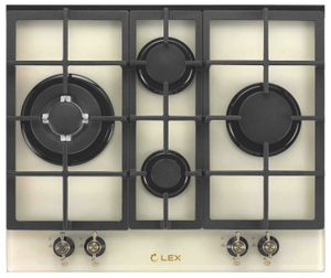 Газовая варочная панель LEX GVG 643 C IV бежевый
