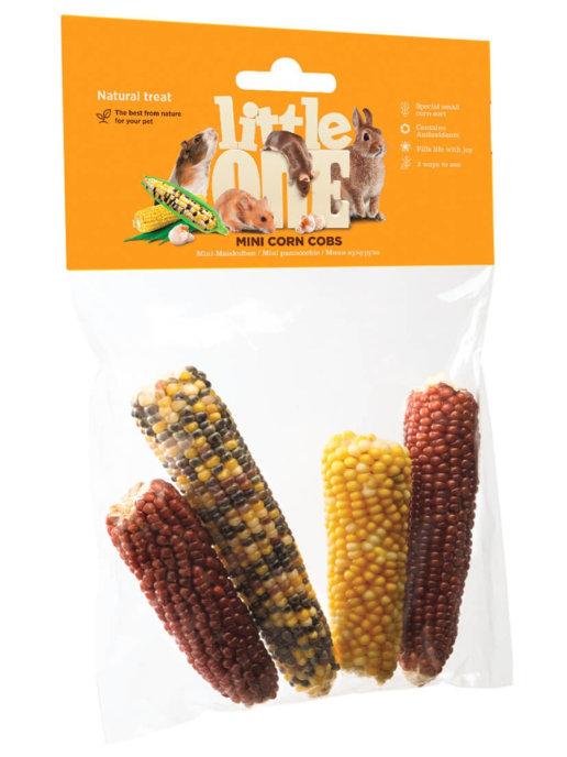 "LITTLE ONE / Лакомство для всех видов грызунов ""Мини кукуруза"""