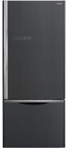Холодильник Hitachi R-B 572 PU7 GGR черный