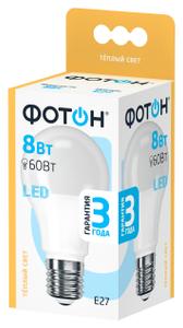 Лампа светодиодная Фотон A60