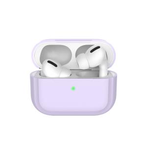 Чехол силиконовый Deppa для AirPods Pro (Lavender)