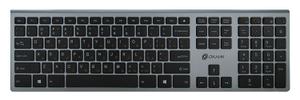Клавиатура беспроводная Oklick 890S серый
