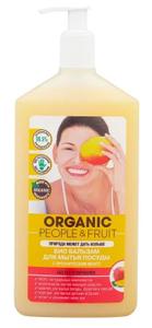 Бальзам для мытья посуды БИО с органическим Манго 500мл Organic People