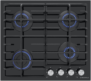 Газовая варочная панель MAUNFELD EGHG.64.6CB/G черный
