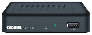 Цифровой TV-тюнер Cadena CDT-1712