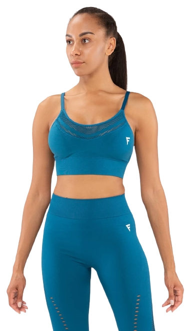 Женский бра-топ Essential Knit blue FA-WB-0202-BLU, синий