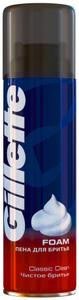 Пена для бритья Чистое бритье 200мл Gillette