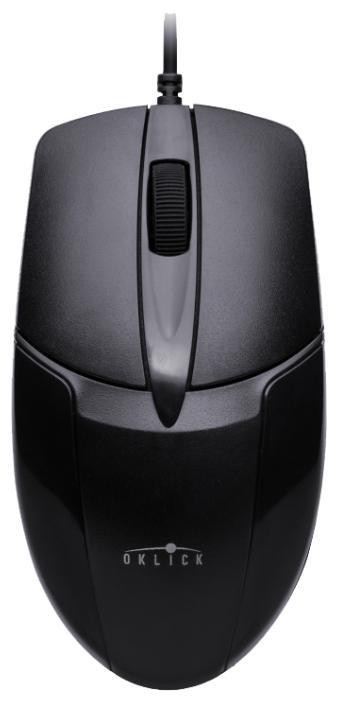 Мышь проводная Oklick 145M PS/2 черный