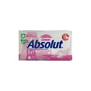Антибактериальное крем-мыло с маслом чайного дерева+пантенол 90гр Absolut