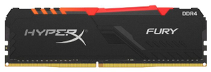 Оперативная память HyperX Fury [HX430C15FB3A/16] 16 Гб DDR4
