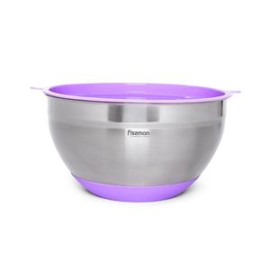 Миска Fissman 20x12см / 3л фиолетовый