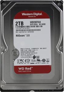Жесткий диск Western Digital Red [WD20EFAX] 2 ТБ