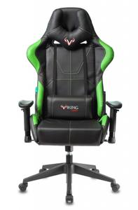 Кресло игровое Бюрократ VIKING 5 AERO зеленый