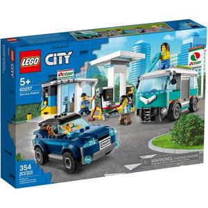 Конструктор lego city станция технического обслуживания 60257