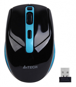 Мышь беспроводная A4Tech G11-590FX черный