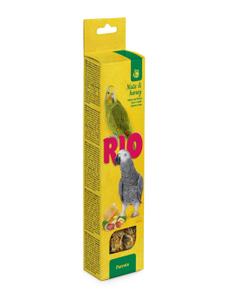 "RIO / Лакомство для попугаев ""Палочки"" с мёдом и орехами 180 гр."