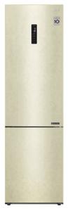 Холодильник LG GA-B509CESL бежевый