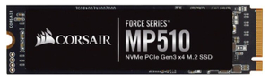 Накопитель SSD Corsair MP510 [CSSD-F240GBMP510] 240 ГБ
