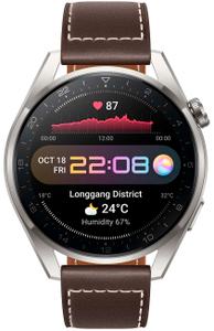 Смарт-часы Huawei WATCH 3 Pro серебристый