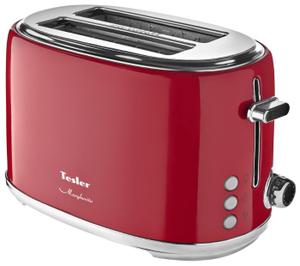 Тостер TESLER TT-255 красный