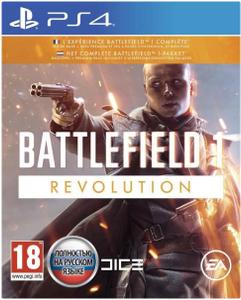 Игра на PS4 Battlefield 1 Revolution Edition [PS4, русская версия]